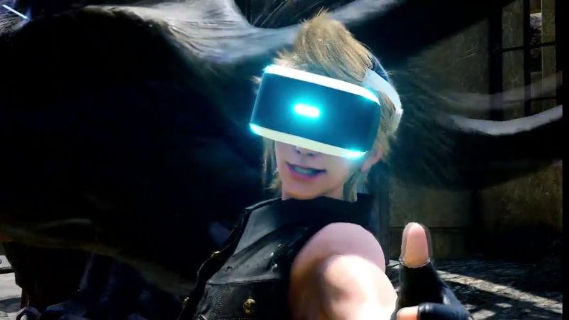 Final Fantasy 15 VR